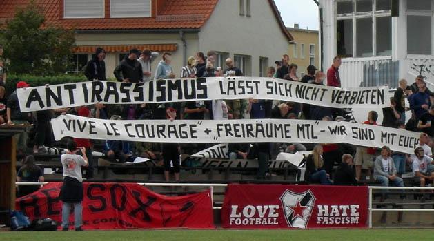 Julius Hirsch Preis Fur Roter Stern Leipzig Fussball Von Links